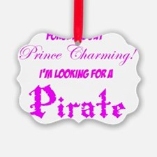 Pirate1Pink Ornament