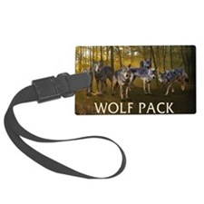 Eclipse Wolf Pack Luggage Tag