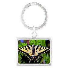 swallowtail butterfly Landscape Keychain