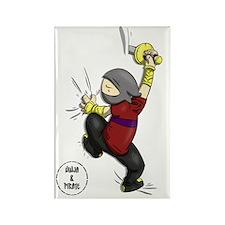 ninjacafep2 Rectangle Magnet