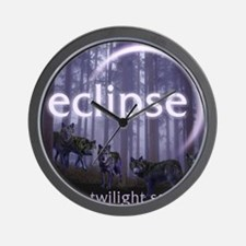 Twilight Eclipse Wall Clock