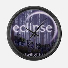 Twilight Eclipse Large Wall Clock
