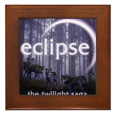 Twilight Eclipse Framed Tile