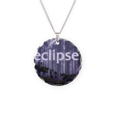 Twilight Eclipse Necklace Circle Charm