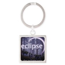 Twilight Eclipse Square Keychain