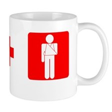 2-redcross t shirt Mug