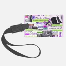 recovery11x9calendar Luggage Tag