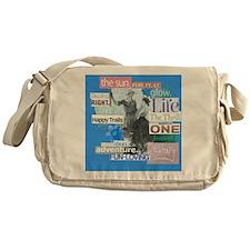 destiny11x11blue Messenger Bag