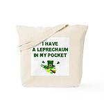 Pocket Leprechaun Tote Bag