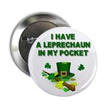 Pocket Leprechaun Button