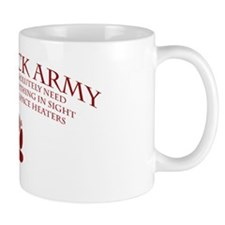 Wolf Pack Army 02 Mug