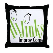 hijinks-press Throw Pillow