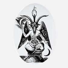 Der_Daemon_Baphomet Oval Ornament