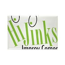 hijinks-press-sm Rectangle Magnet