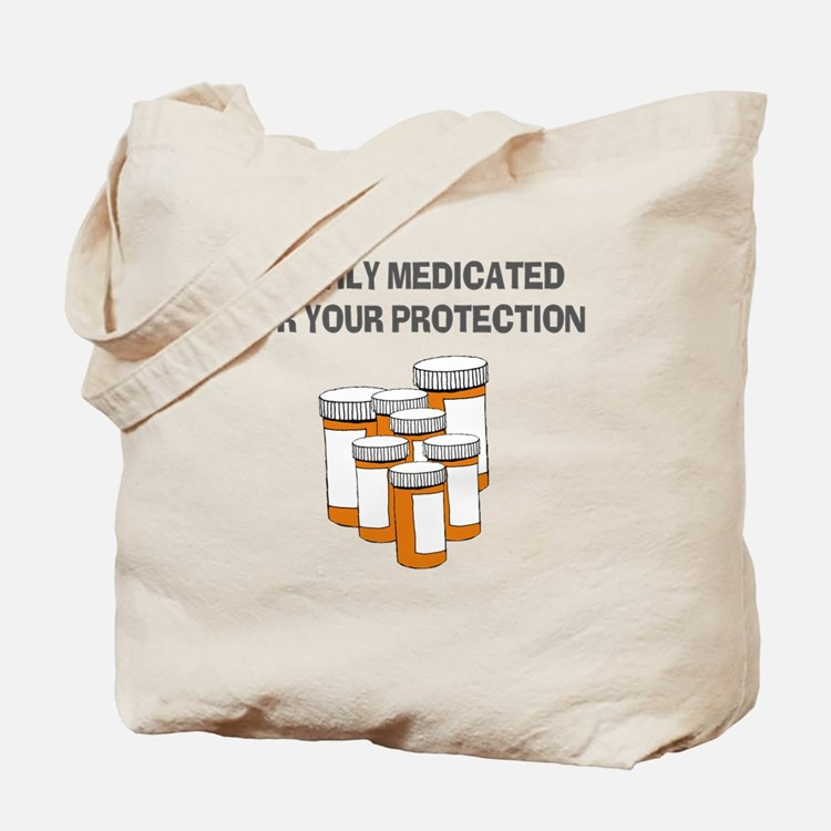 Heavily medicated-1 Tote Bag