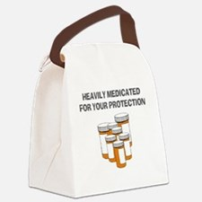 Heavily medicated-1 Canvas Lunch Bag