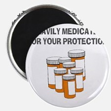 Heavily medicated-1 Magnet