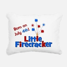 littlefirecracker_bornon Rectangular Canvas Pillow