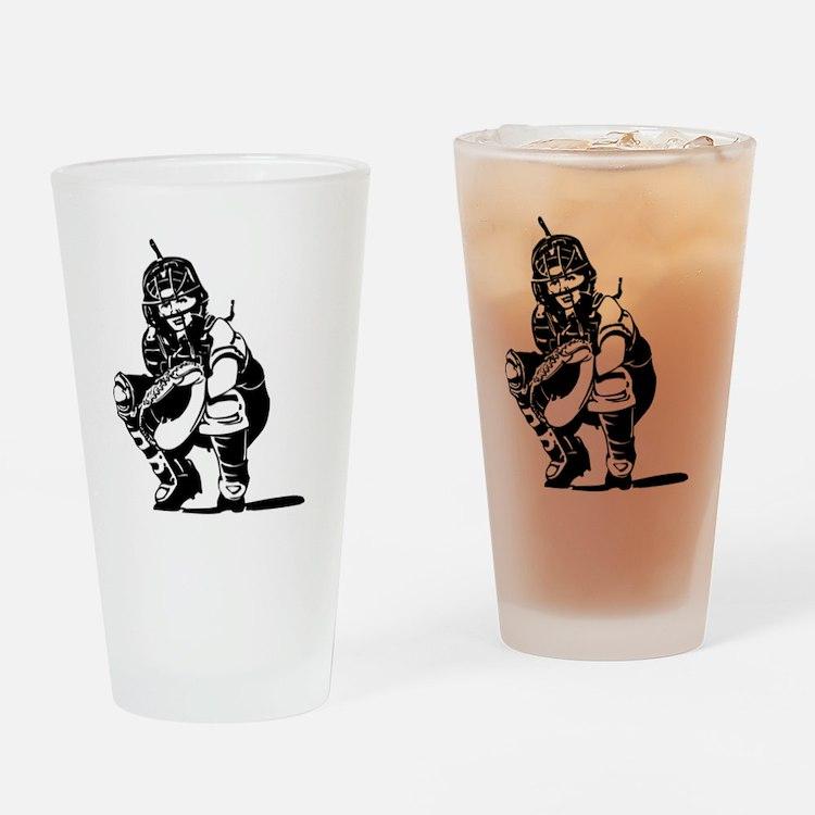 2102534_BLACK Drinking Glass
