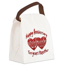 ann ten Canvas Lunch Bag