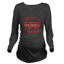 ann ten Long Sleeve Maternity T-Shirt