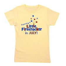 expectingalittlefirecrackerinjuly Girl's Tee