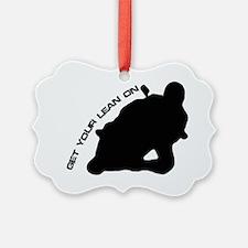 Lean-On_Black Ornament