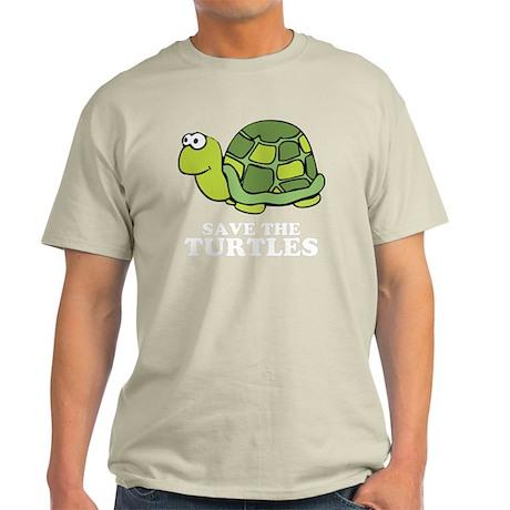 Save Turtles -blk Light T-Shirt