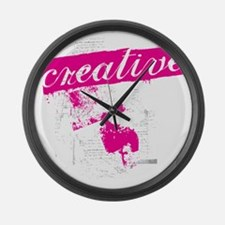 creative Large Wall Clock