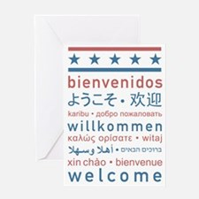 welcome8 Greeting Card