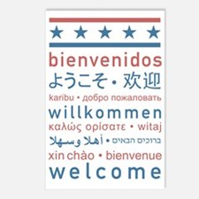 welcome8 Postcards (Package of 8)