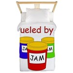 Fueled by Jam Twin Duvet