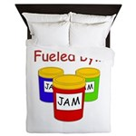 Fueled by Jam Queen Duvet
