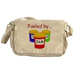 Fueled by Jam Messenger Bag
