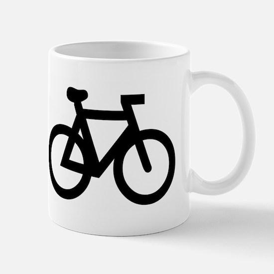 Burn fat, not oil (cycling) Mug