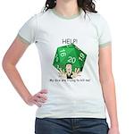 'Deadly Dice' Jr. Ringer T-Shirt