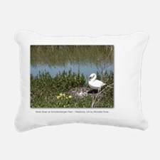 GCard_Mute Swan at Schol Rectangular Canvas Pillow