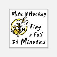 """36 Minutes Square Sticker 3"""" x 3"""""""
