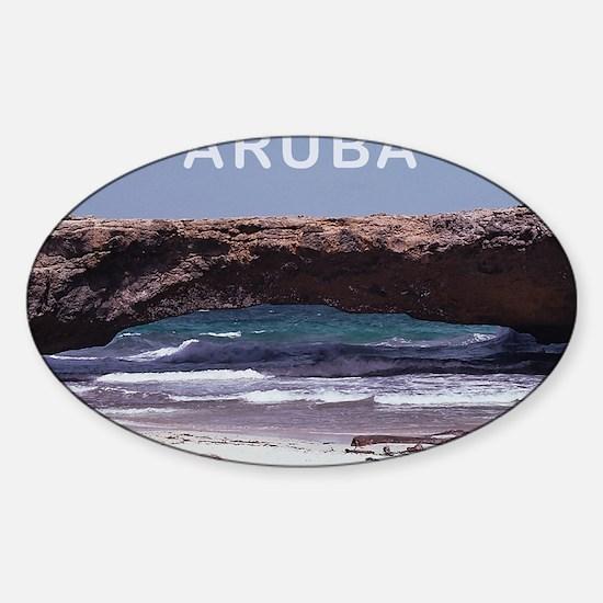 Aruba2 Sticker (Oval)