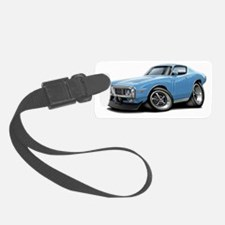 1973-74 Charger Lt Blue Car Luggage Tag