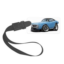 1973-74 Charger Lt Blue-Black To Luggage Tag