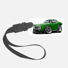 1973-74 Charger Green Car Luggage Tag