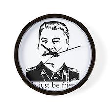 stalinfriends Wall Clock