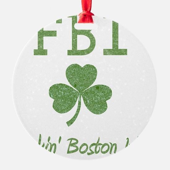 fbi-irish Ornament