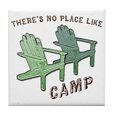 camp Tile Coaster
