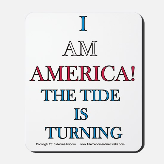 The tide is turning Mousepad