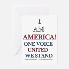 One Voice UNITED Greeting Card