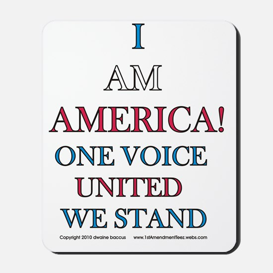 One Voice UNITED Mousepad