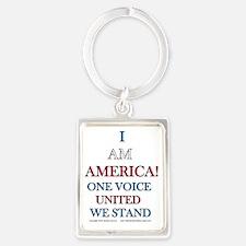 One Voice UNITED Portrait Keychain