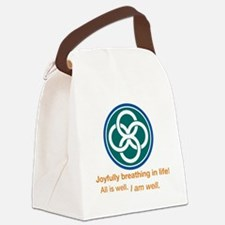 Joyful Celtic Canvas Lunch Bag